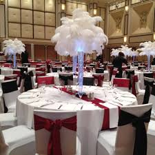 white ostrich feather centerpieces feathers by eve home facebook