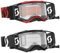 motocross goggles ebay ebay scott prospect wfs roll off motocross goggles enduro mx bike