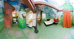 Room Best Themed Hotel Rooms by Impressive Ideas Camping Themed Bedroom 17 Best Ideas About