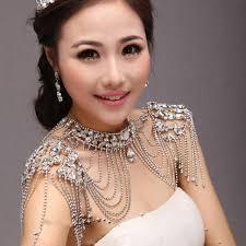 aliexpress vintage necklace images New designs bridal shoulder chain glass crystals vintage necklaces jpg