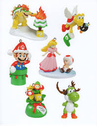christmas themed mario ornaments cute jaaryn pinterest