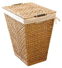 Dark Brown Laundry Hamper by Amazon Com Lamont Home Apricot Hand Woven Laundry Hamper With