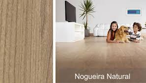 Excepcional Piso Laminado Prime Nogueira Natural Eucafloor - m² - Eucafloor  @OS65