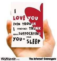 sarcastic valentines day cards sarcastic i you s day card pmslweb