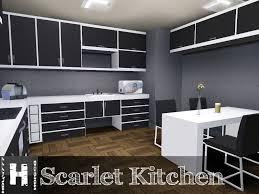Kitchen Cabinet Creator Mod The Sims Scarlet Kitchen 11 12 2011 Updated
