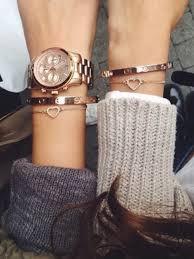 rose gold love heart bracelet images Pin by nicole kehl on love this pinterest cartier bracelet jpg