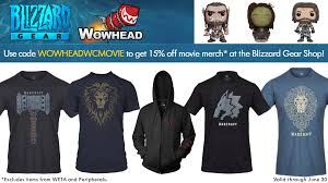 warcraft movie j nx apparel collection discount code to gear