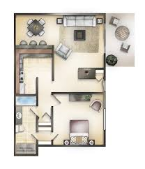 750 Sq Ft Marina Point Apartments Builder U0027s Inc