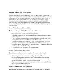 resume objective for freelance writer freelance resume writing adorable resume writer job description 1