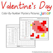 place value mystery number s day place value color by number printables worksheets
