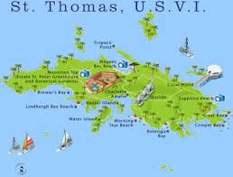 st islands map st map going to the us islands