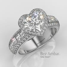 Heart Shaped Wedding Rings by Heart Shaped Diamond Engagement Rings Alson Jewelers