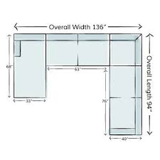 couch measurements how to measure for a sectional sofa wayfair