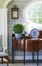 Judy Bentley Interior Views Beautiful Breakfast Nook Timeless Blue U0026 White Pinterest