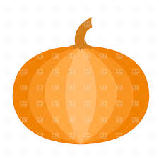 halloween pumpkins and the silhouette of cartoon house vector