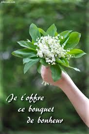 Porte bonheur muguet carte  Gite pompadour lubersac