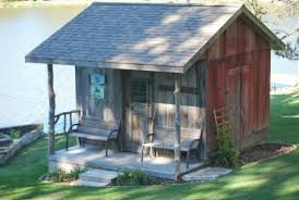 The Barn Yard Sheds Using Reclaimed Barn Wood John Built This Storage Shed That Became