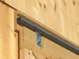 Exterior Sliding Door Track Systems Barn Door Construction How To Build Sliding Barn Doors