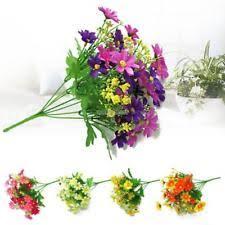 artificial garden flowers ebay