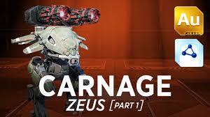 carnage zeus war robots gameplay shenzhen part 1 youtube