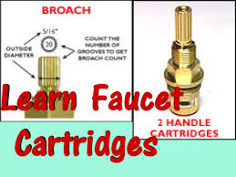 Watermark Kitchen Faucets by Repair Faucet 1 4 Turn Ceramic Cartridge Drip Youtube