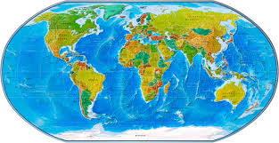 World Political Map by Physical Political World Map 2007 Geography World Maps