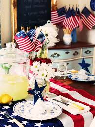 day table decorations easy table decorations for 4th of july independence day family