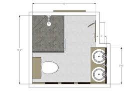 plan of bathroom download