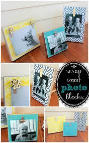 diy scrap wood photo block scrap woods and tutorials diy scrap wood photo block