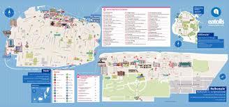 Map Of Maldives Large Scale Tourist Map Of Male And Hulhumale Male Maldives