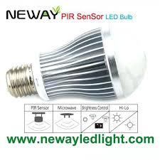 light sensor light bulbs motion detector light bulb detector sensor led light bulb base