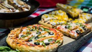 chef pizza recipes chef jeff mahin s recipes for no knead dough and chicken