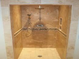 walk in tile shower designs creating a great shower tile design
