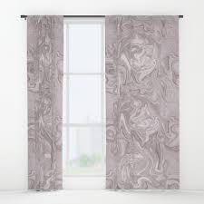 Soft Pink Curtains Faux Marble In Soft Pink Window Curtains By
