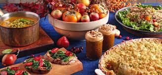 a vegan thanksgiving menu to be thankful for