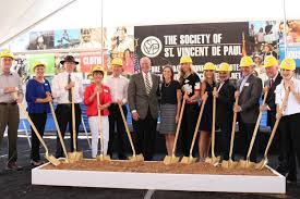 st vincent de paul urban farm harvests health and community st vincent de paul breaks ground on campus expansion