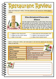 18 free esl pancake worksheets