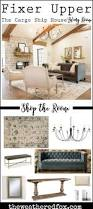 fixer upper cargo ship house living room shop the room buy