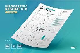 infographic resume cv template vol 7 resume templates creative