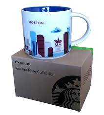 amazon com starbucks coffee mug you are here collection boston