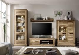 Wohnzimmerschrank Nussbaum Massiv Wohnwände Von Trendteam Günstig Online Kaufen Bei Möbel U0026 Garten