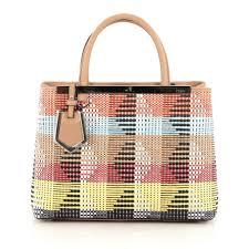 where to buy raffia buy fendi 2jours handbag woven raffia orange 1901401 trendlee
