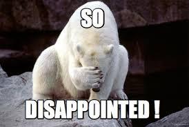 Confession Bear Meme Generator - meme creator disappointed polar bear meme generator at