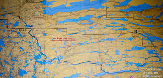 Lake Maps Mn Cross Bay Poplar Lake Clearwater Historic Lodge