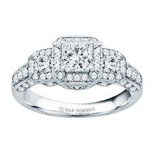 vintage rings designs images Rm1113 14k white gold princess cut diamond vintage style jpeg