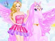 barbie pegasus play game
