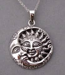 silver moon necklace pendants images 9 best celestial sun moon necklaces images moon jpg