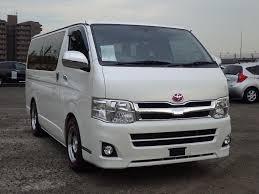 van toyota toyota hiace van 2013 for sale japanese used cars car tana com