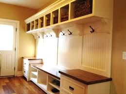 Mudroom Dimensions Carpenter Mudroom Design Mudroom After This Was Done By A