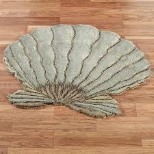sea shell rug roselawnlutheran creative rugs decoration